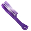 Magic Detangle Styling Comb (purple) available at Abantu