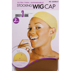 Magic Stocking Wig Cap, Brown available at Abantu
