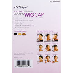 Magic Stocking Wig Cap, Brown product information