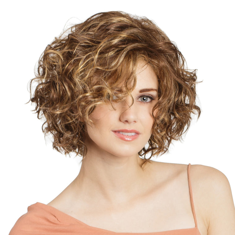 Tony of Beverly Haily Synthetic Lace-front Wig available at Abantu