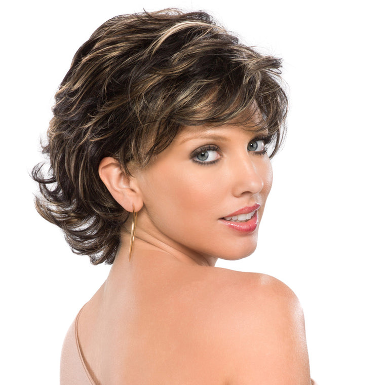 Tony of Beverly Lacey Synthetic Lace-front Wig available at Abantu