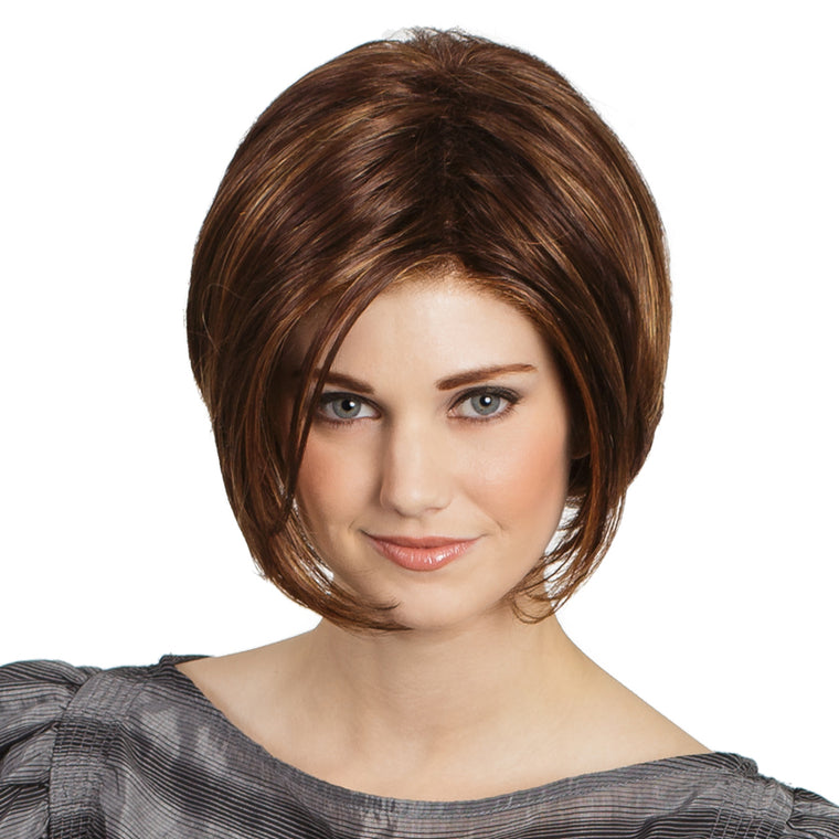 Tony of Beverly Logan Synthetic Lace-front Wig available at Abantu