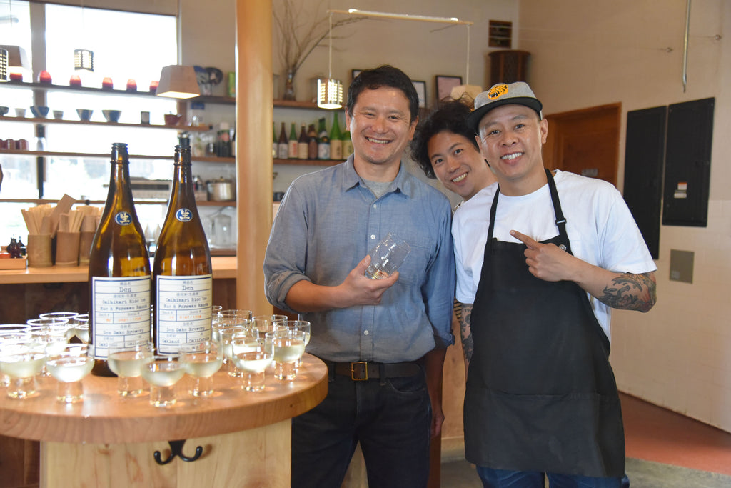 Umami Mart Sake Dinner with Kosuke Bistro