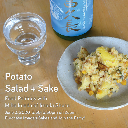 Potato Salad + Sake: Food Pairings with Miho Imada of Imada Shuzo