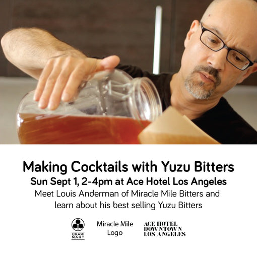 Making Cocktails with Miracle Mile Yuzu Bitters