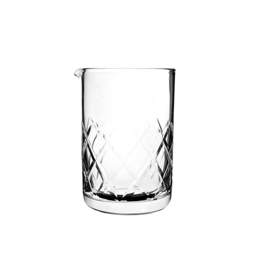 Umami Mart Japanese Seamless Diamond Cut Mixing Glass