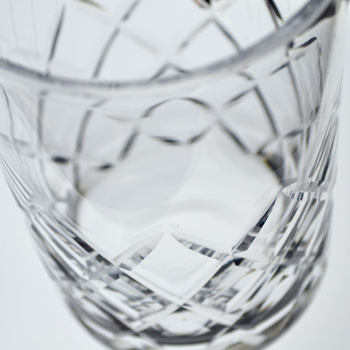 Seamless Diamond Cut Mixing Glass