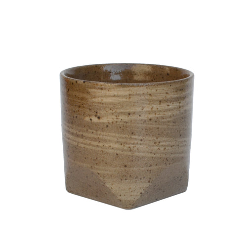 Wheat Faceted Rocks Cup