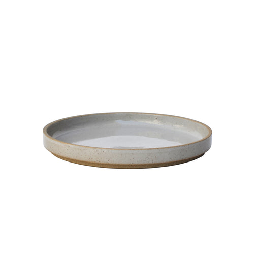 Hasami Porcelain Gloss Gray Plate 7-1/3""