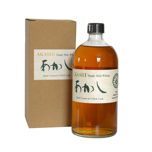 Akashi Single Malt Sake Cask 3 Year Whisky (BTL 25 oz)