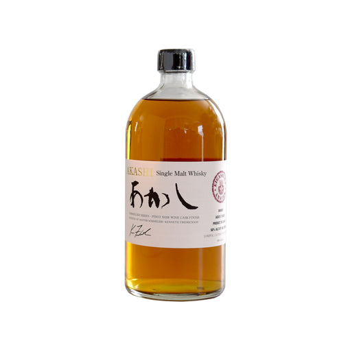 Akashi Pinot Cask Single Malt Whisky (BTL 25 oz)