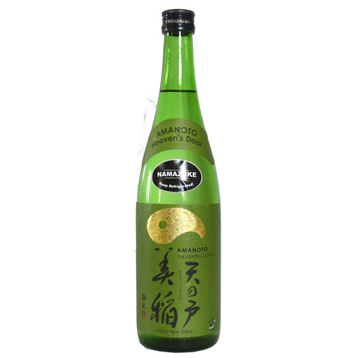 "Ama No To ""Heavens Door"" Nama Tokubetsu Junmai Sake (BTL 24 oz)"