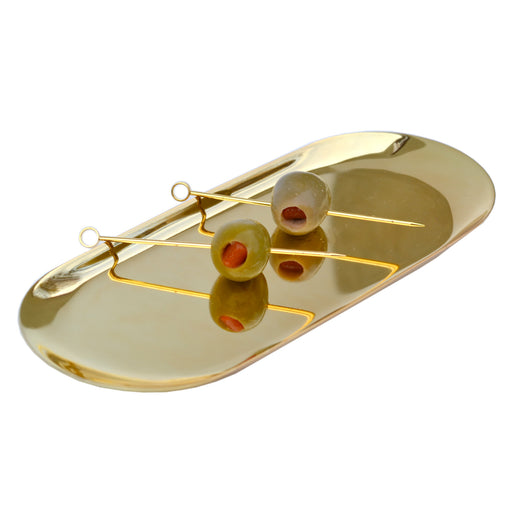 Japanese Brass Accessory Tray