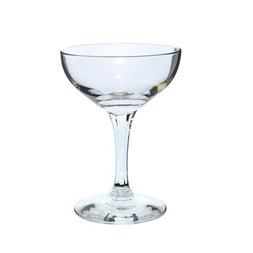 Gold Champagne Coupe Glass (6-Pack)