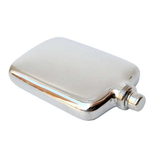 Curved Metal Flask
