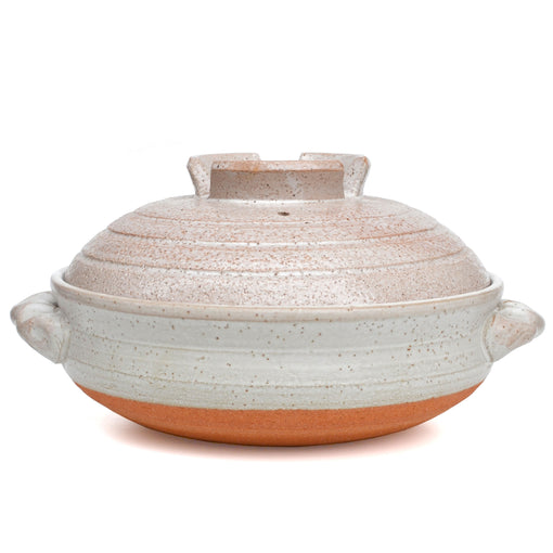 Japanese Shiga Donabe Pot for Hot Pot Shabu Shabu Sukiyaki Nabe