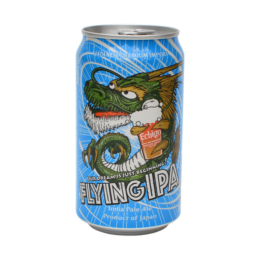 Echigo Flying IPA Beer (Multi-Pack CAN 11.8 oz)
