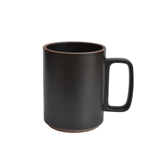 Large Black Hasami Porcelain Mug 15 oz