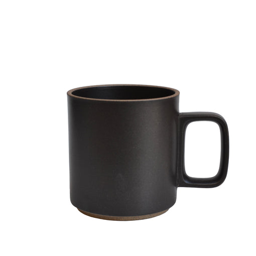 Medium Hasami Porcelain Black Mug 13 oz