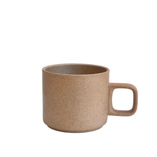 Small Brown Hasami Porcelain Mug 11 oz