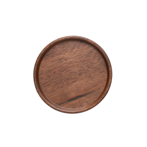 Hasami Porcelain Walnut Wood Tray 3-1/3""