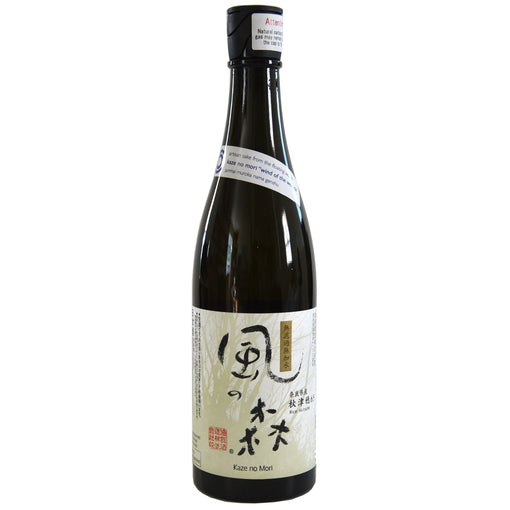 Kaze no Mori Wind of the Woods Junmai Muroka Nama Genshu Sake (BTL 24 oz)
