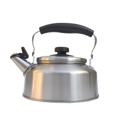 Japanese Stainless Steel Whistling Kettle, Inspired by Sori Yanagi Kettle, Made in Japan