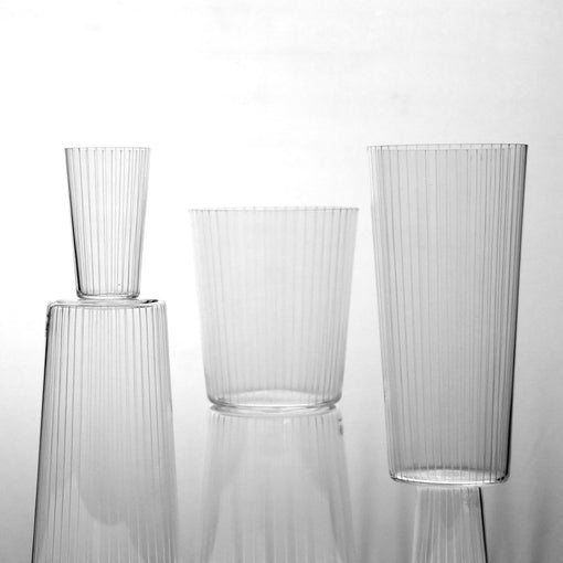 Ribbed Kikatsu 7801 Old Fashioned Glass
