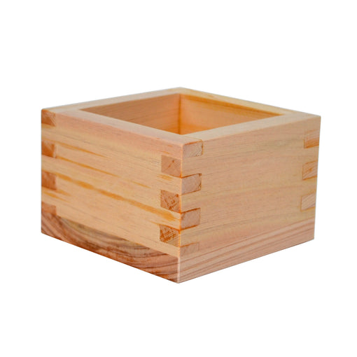 Hinoki Japanese Cypress Wood Masu for Sake