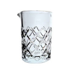 Diamond Cut Mixing Glass