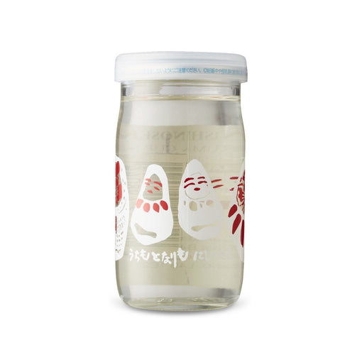 Nishinoseki Daruma One Cup Sake (Six Pack BTL 6 oz)