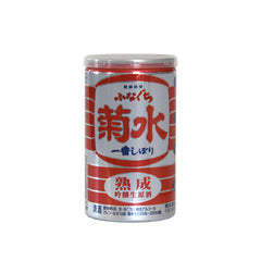 Kikusui Ginjo Red One Cup Sake (Six Pack CAN 6.7 oz)
