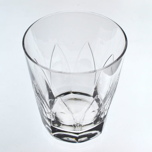 Hard Strong Peacock Old Fashioned Glass (3-Pack)