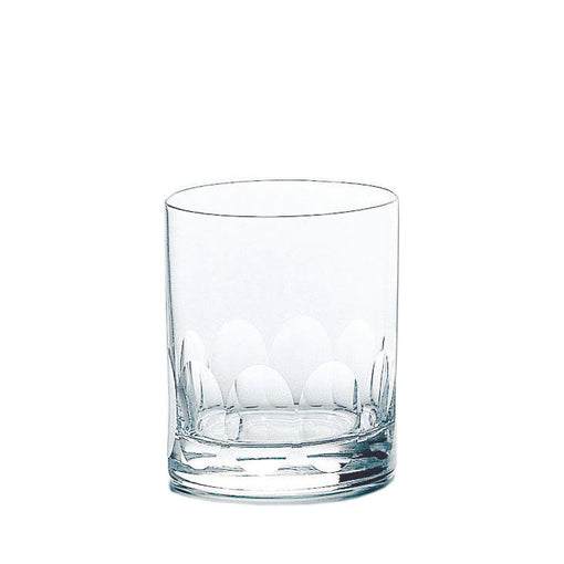 Hard Strong Petal Double Rocks Glasses (6-Pack)