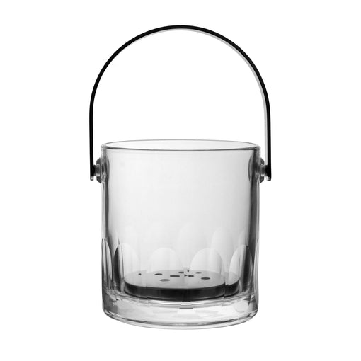 Petal Ice Bucket with Tongs