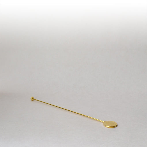 cocktail stirrer queen elizabeth coin gold swizzle stick for royalty