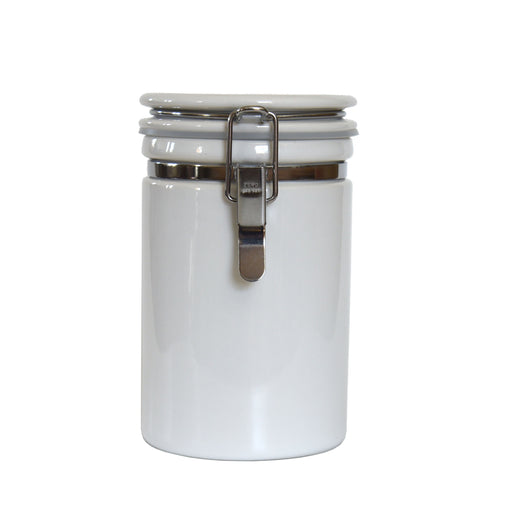 27 oz Seal Tight White Canisters