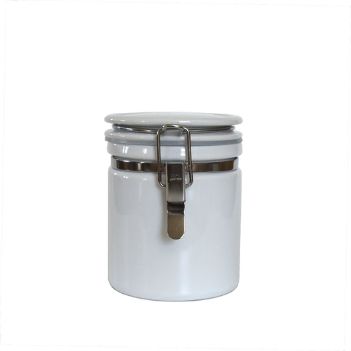 13.5 oz Seal Tight White Canisters