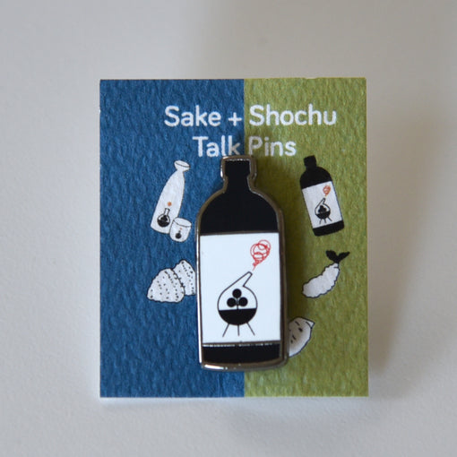 Shochu Talk Pin