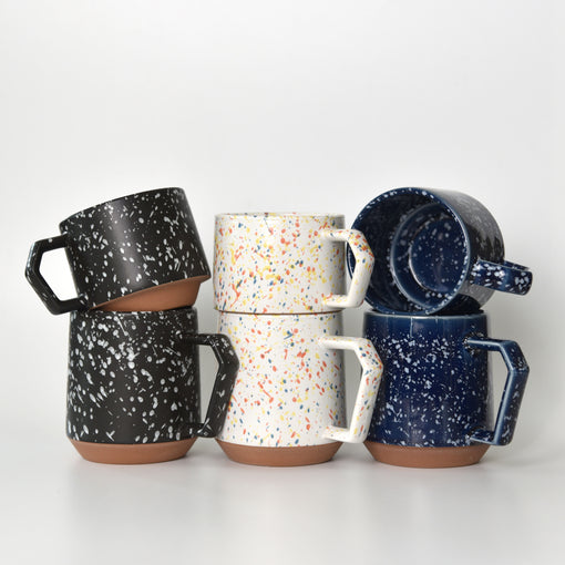 Splash Navy Chips Stack Mug