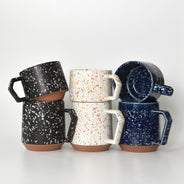 Splash Black Chips Stack Mug