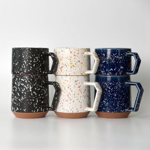 Splash White Chips Stack Mug