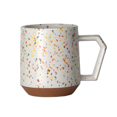 Splash White Orange Chips Mug