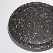 Splash Black Chips Plate