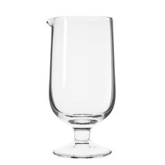 Semi-Crystal Stemmed Mixing Glass