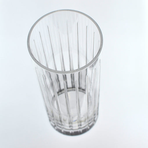 Hard Strong Striped Collins Glass 400ml (6-Pack)