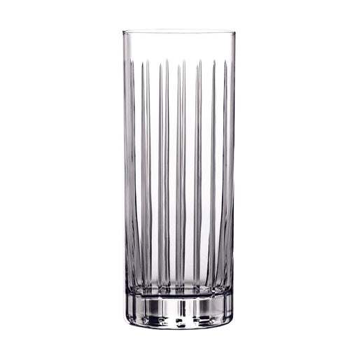 Hard Strong Striped Collins Glass (6-Pack)