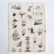 Tofu Spirits Tenugui Kitchen Towel