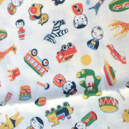 Retro Treasures Tenugui Kitchen Towel