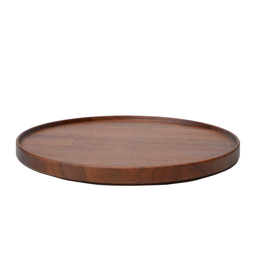 Hasami Porcelain Walnut Wood Tray 10""